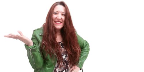 Cindy Vranken legt haar waarom lachend uit