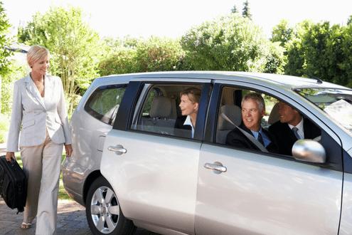 zakelijk carpoolen